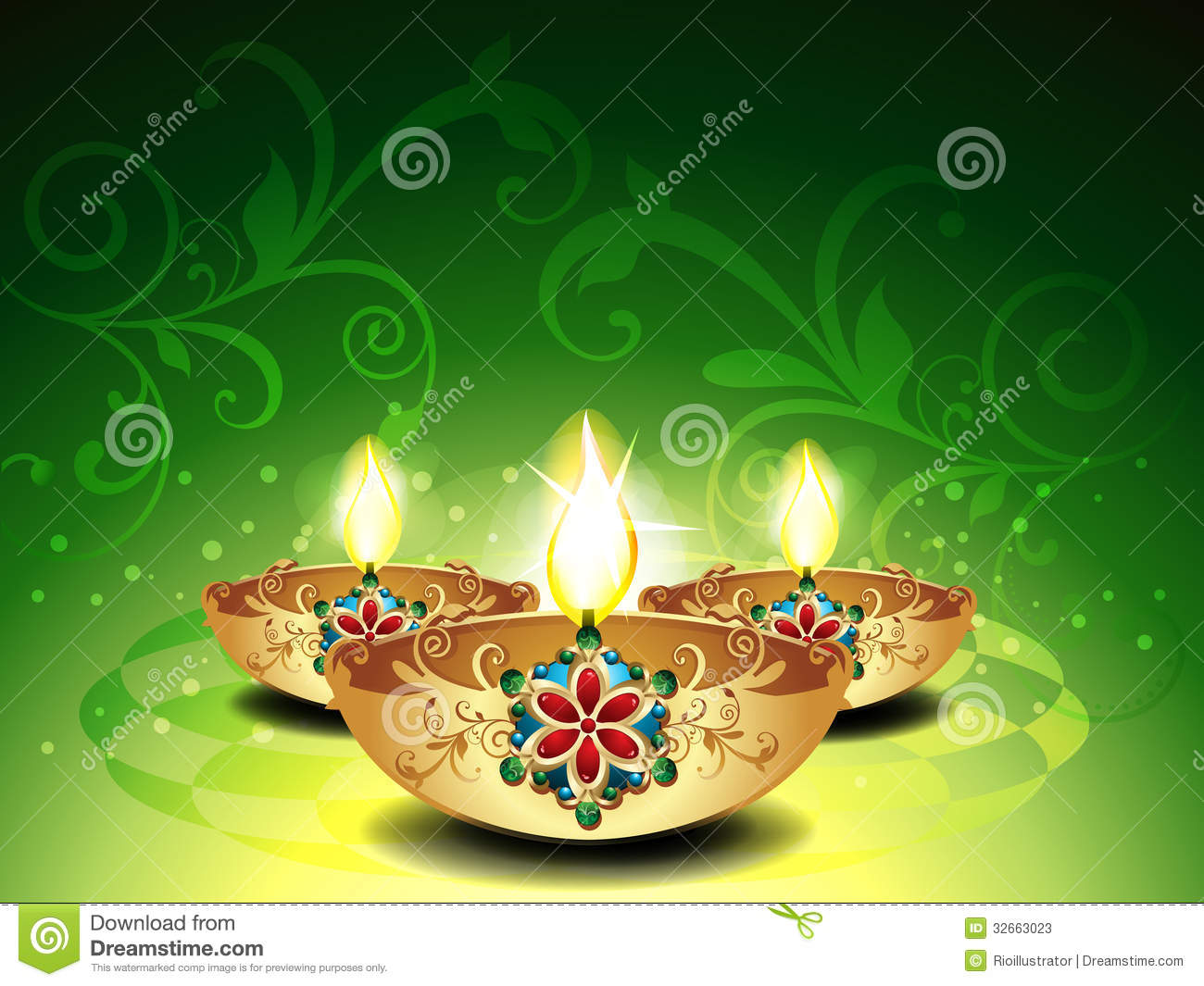 abstract-deepawali-background-vector-illustration-32663023